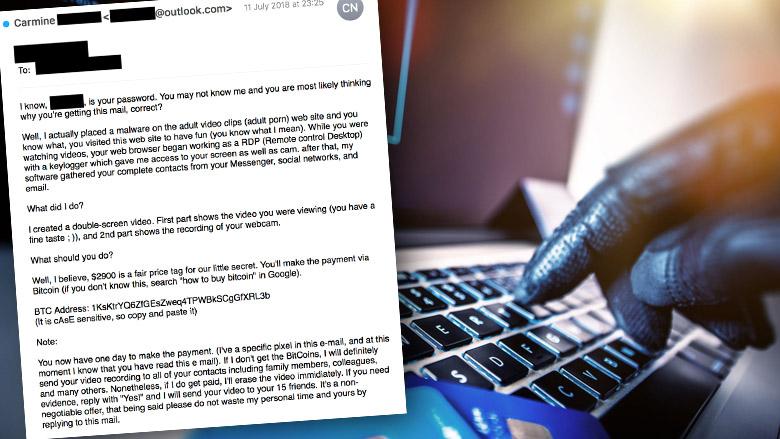 Let op! Afpersers misbruiken gelekte wachtwoorden