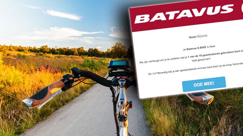 Misleidende winactie 'Batavus' leidt naar duur telefoonnummer
