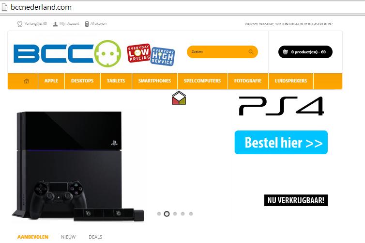 'bccnederland.com misbruikt gegevens en logo echte BCC'
