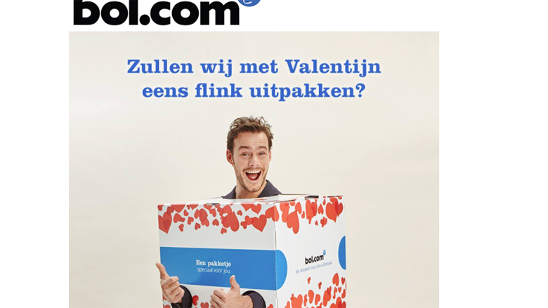 Valentijns-actie van Bol.com in je mailbox? Deze is nep