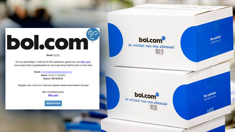 Let op! Misleidende winactie 'bol.com'