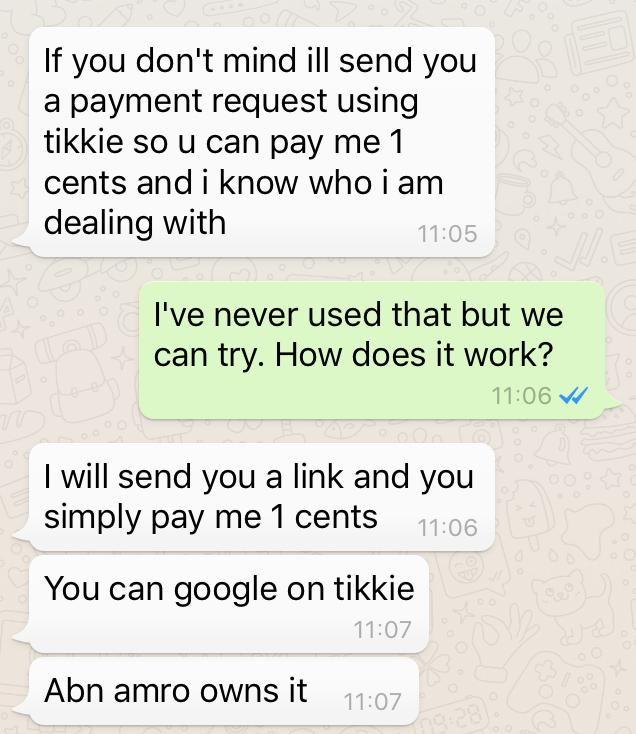 Phishing via betaaldienst