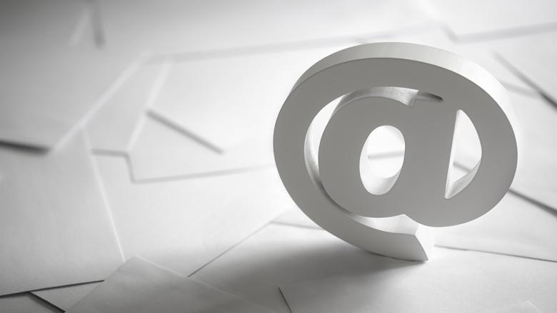 Stuur valse e-mails door!