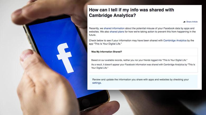 Controleer nu of jouw gegevens zijn gelekt door Facebook
