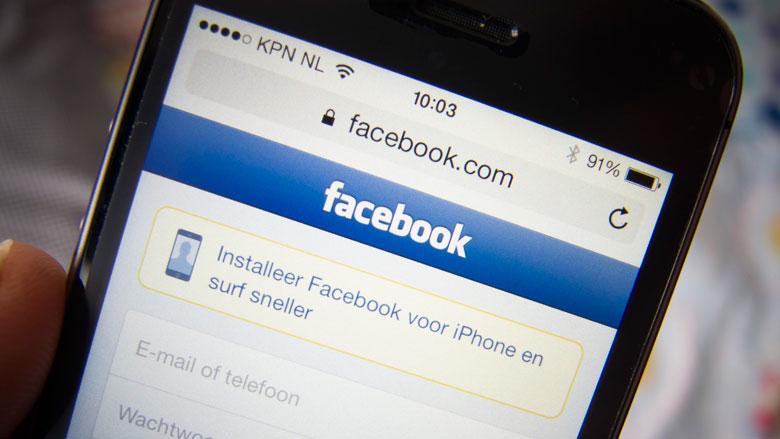 'Minder vertrouwen in Facebook'