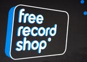 Klanten Free Record Shop genept met cadeaubon