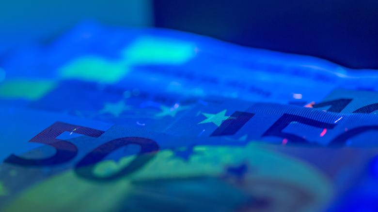 Aantal valse bankbiljetten neemt af