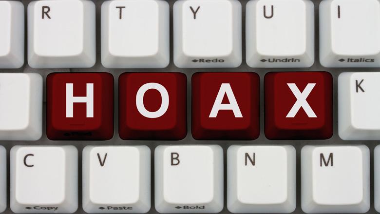 Hoax: 'toets je pincode achterstevoren in'