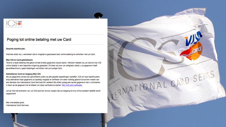 Phishingmail 'ICS' duikt weer op