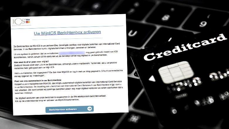 Pas op voor phishingmail van 'ICS' over Berichtenbox activeren
