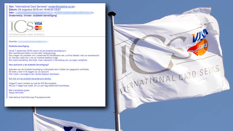 Let op! Valse mail 'ICS' over dubbele beveiliging