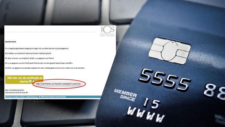 Laat je niet bang maken door phishingmail 'ICS'