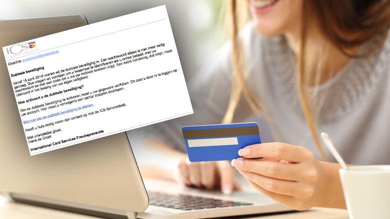 E-mail over dubbele beveiliging van ICS blijkt phishing