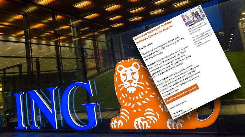 Kijk uit voor valse mail van 'ING' over geen toegang tot internetbankieren