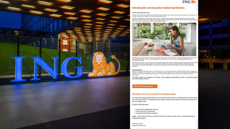 Mail uit naam ING blijft populair voor oplichters