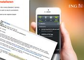 'ING' phishingmail 22 slachtoffers gemaakt