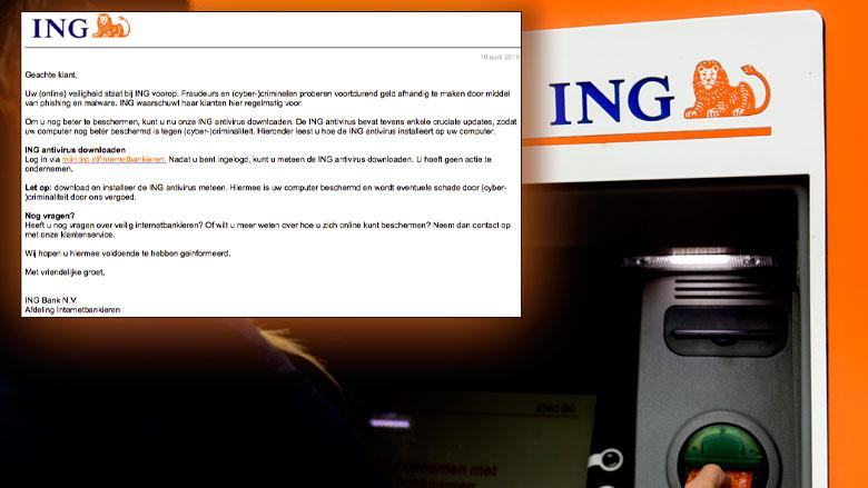E-mail over veiliger ING is zelf gevaarlijk