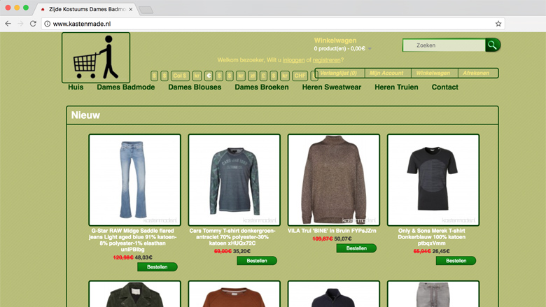 Politie waarschuwt voor de webshop kastenmade.nl