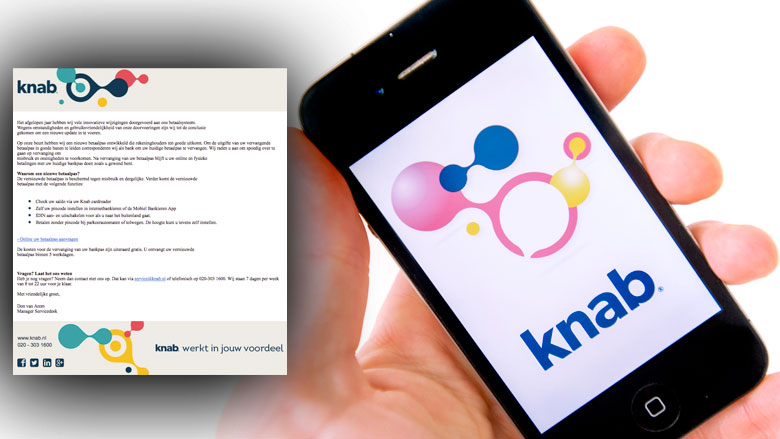 Phishingmail 'Knab' in omloop