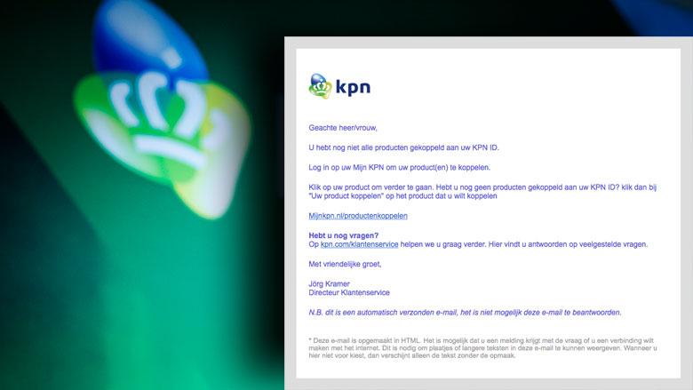 E-mail 'KPN' is phishing
