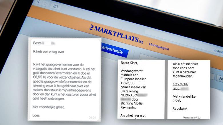 Let op! Nieuwe phishingtruc gericht op Marktplaatsgebruikers