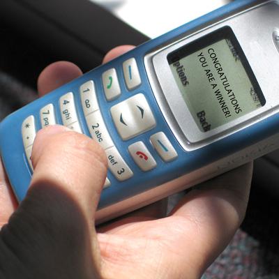 Voorschotfraude per SMS