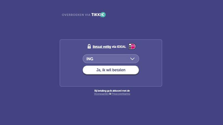 Nieuw webadres voor valse Tikkie-site