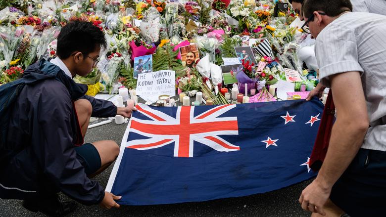 Oplichters gebruiken aanslagen in Nieuw-Zeeland voor phishing
