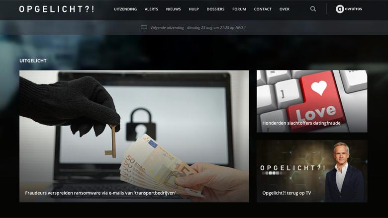 De Opgelicht?! website is vernieuwd!