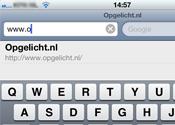 Lek in browser iPhone- en iPad