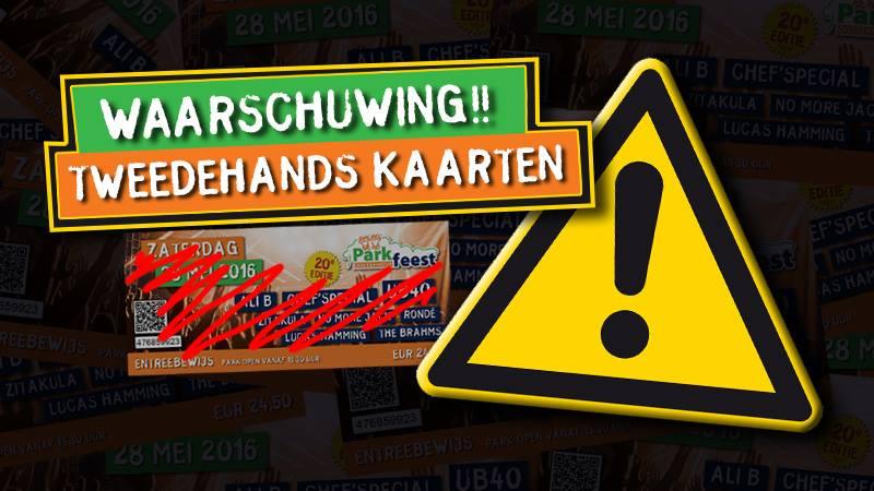 Parkfeest Oosterhout waarschuwt voor oplichters