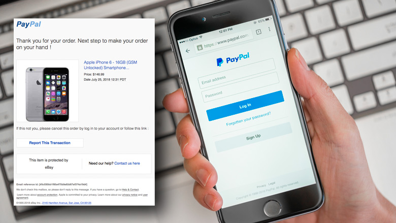 E-mail 'PayPal' over gekochte iPhone is vals