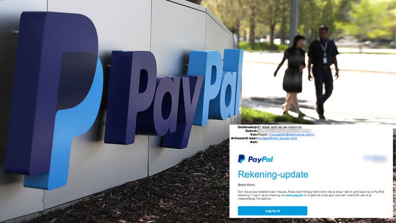 Let op! Phishingmail 'PayPal' in omloop