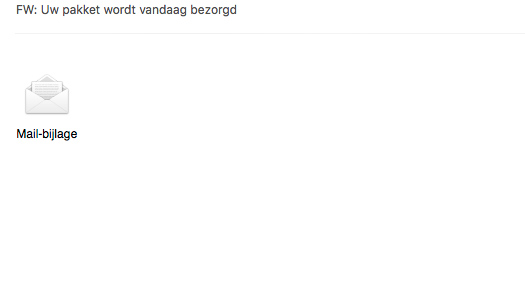 Nog altijd klachten over valse e-mails 'PostNL'