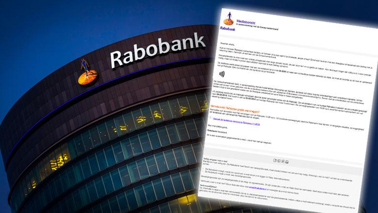 Criminelen misbruiken naam Rabobank in phishingmail