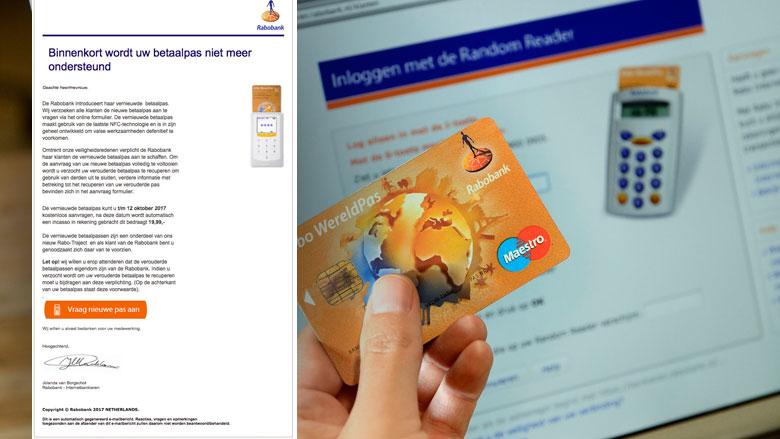 Opnieuw valse e-mail Rabobank in omloop