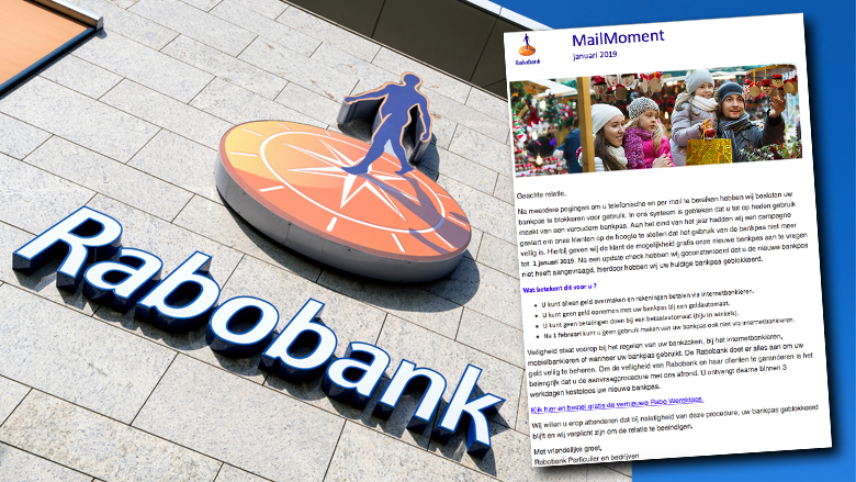 Mail van 'Rabobank' over Wereldpas aanvragen is vals