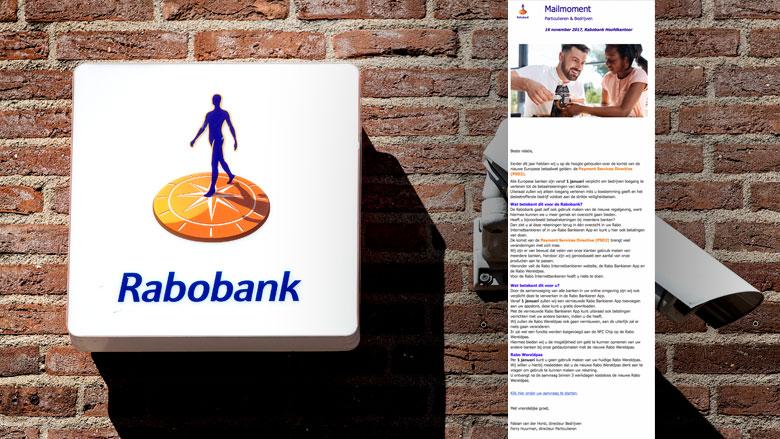 Phishingmail 'Rabobank' naar aanleiding van betaalwet