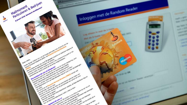 Phishingmail 'Rabobank' in omloop