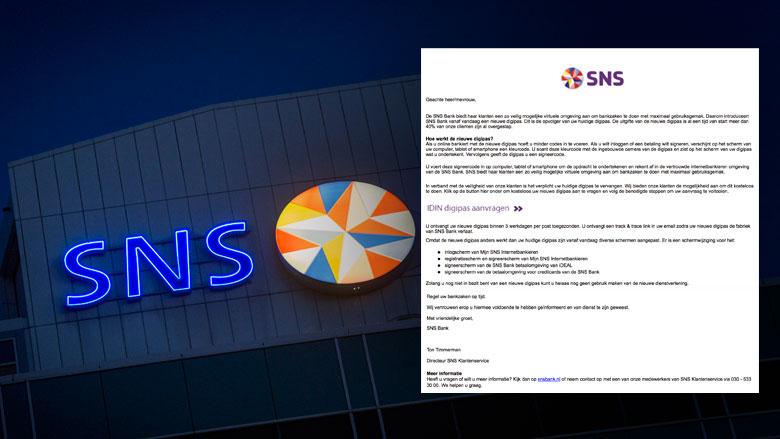 Phishingmail 'SNS Bank' duikt weer op