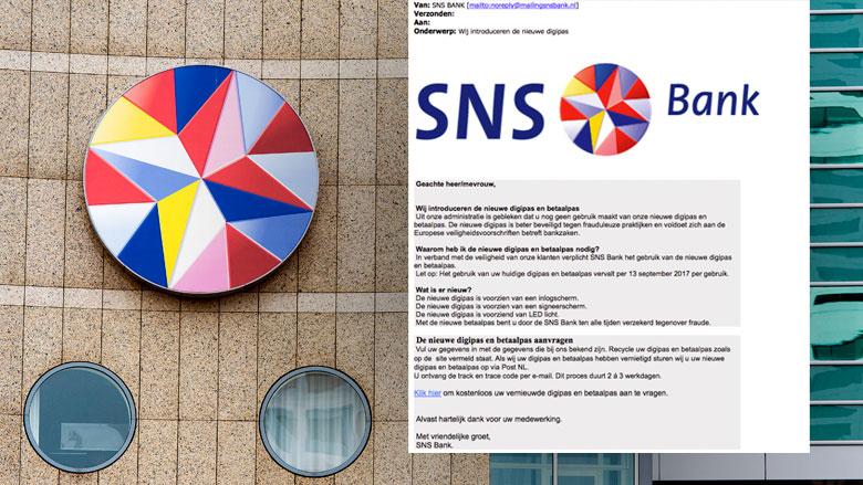 Phishingmail 'SNS' digipas