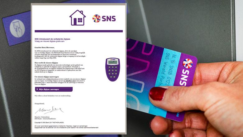 Phishingmail uit naam van SNS