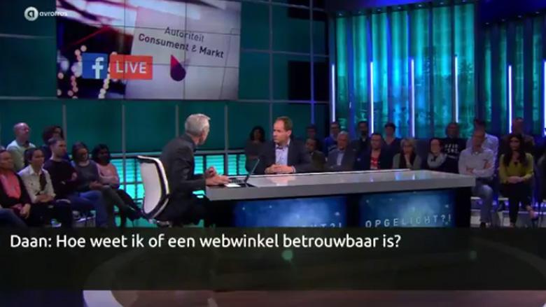 Livestream: webshops