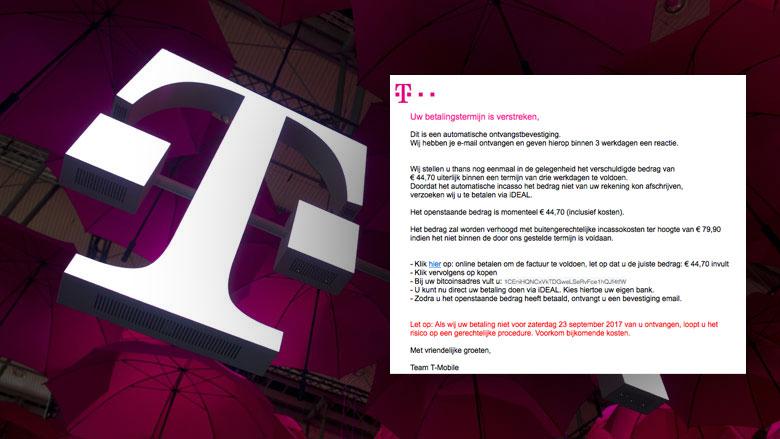 Valse e-mail T-Mobile duikt weer op