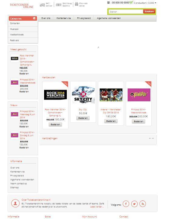 'Ticketcenteronline.nl misbruikt gegevens bonafide bedrijf'