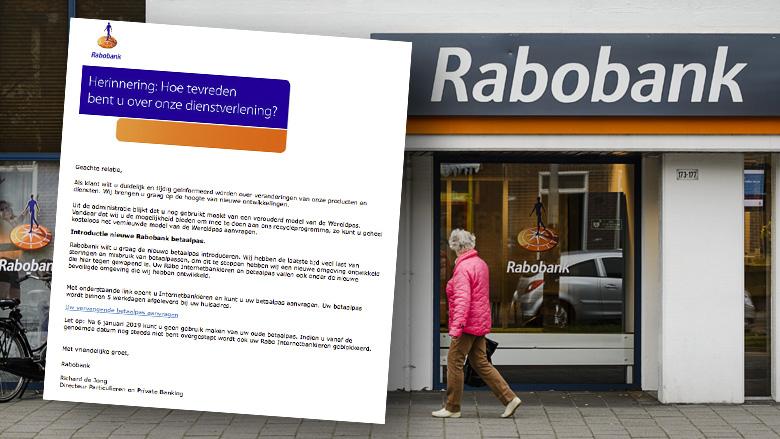 Opnieuw meldingen over phishingmail van 'Rabobank' over wereldpas vervangen