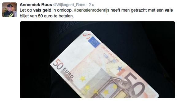 Pas op voor valse bankbiljetten!