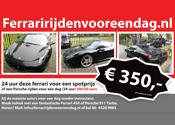 Politie pakt man achter Ferraririjdenvooreendag.nl op