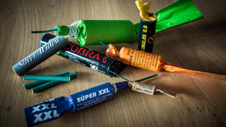 Taakstraffen voor opslaan duizenden kilo's illegaal vuurwerk