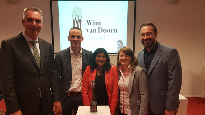 Cybercrime Team Midden-Nederland wint de Wim Van Doorn Award